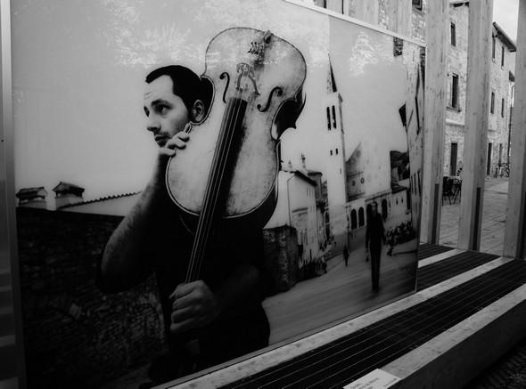 Musicien, Festival des 2 Mondes, Spoleto  -  Steve McCurry,  2013.