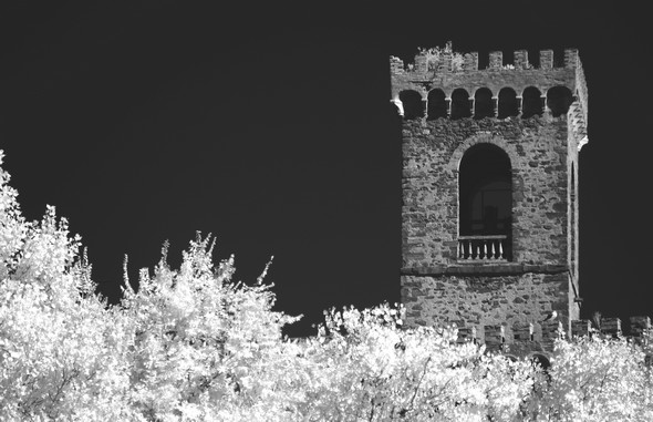 Sommet du campanile de l'ancienne église San Francesco.