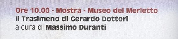 Exposition au Musée de la Dentelle  (Merletto)