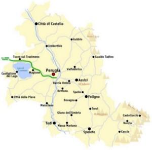 L'attuale Provincia di Perugia