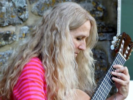 Lisa Mattera, chitarrista classica.