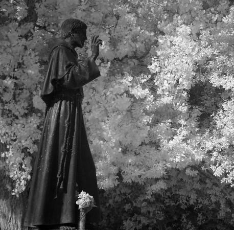 A l'Isola Maggiore, tout commence, et tout finit avec saint François d'Assise !