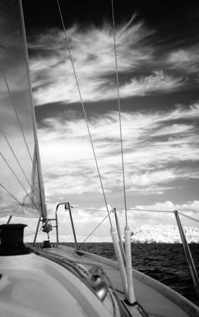 En approche de l' Isola Minore.