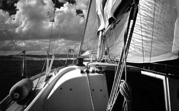 Cap maintenant vers notre port d'attache à Tuoro-Navaccia...
