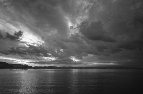 Rive est du lac Trasimène, progression du lever du jour  (2)