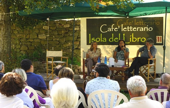 30/08/2014 : Maria Grazia Proietti, Laura Dalla Ragione, don Ricardo Mensuali (di sinistra a destra).