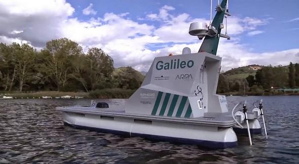 Galileo, le drone aquatique créé par Siralab Robotics (Terni).