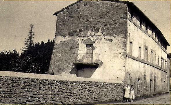 La Villa fiorita in 1927.