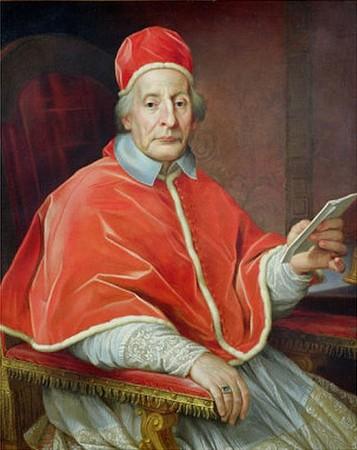 Ritratto del papa Clemente XII da  Agostino Masucci