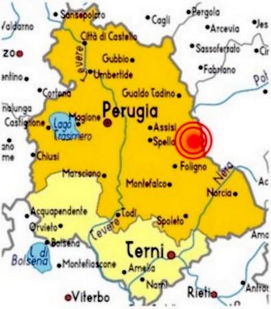 Il terremoto in umbria nel 1997.