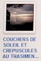 10 COUCHERS SOLEIL - CRPUSCULES
