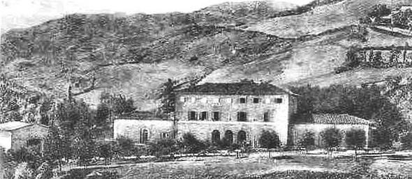 L'ancienne douane de Figare .