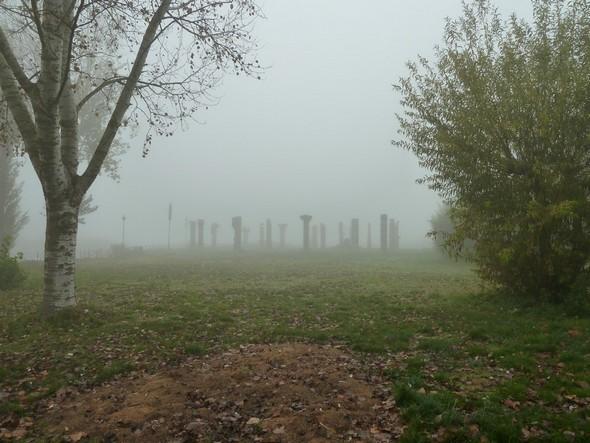 """Brouillard du 18/11/201.Photo prise depuis le nord du """"Campo del Sole""""."""