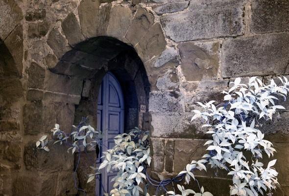 """Détail du Palazzetto Medieval. aussi appelé """"Casa Bartocci"""".XIII° siècle."""