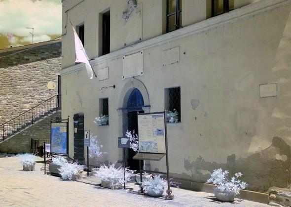 Centre d'information.Musée du Merletto (dentelle).