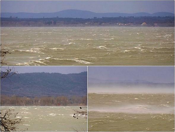 Divers aspects peu fréquents du lac Trasimène.5 mars 2015,   08:31.