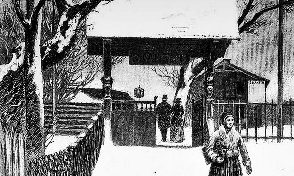 Le musée en plein air de Skansen (Stockholm) à son ouverture en 1891