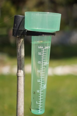 Pluies incessantes d'une partie de la dernière décade de février 2015.