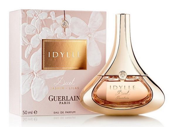 Idylle-Duet.Parfum de Guerlain à base de jasmin et de lilas.