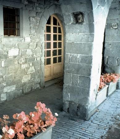 Arcades du palazzo medievale.