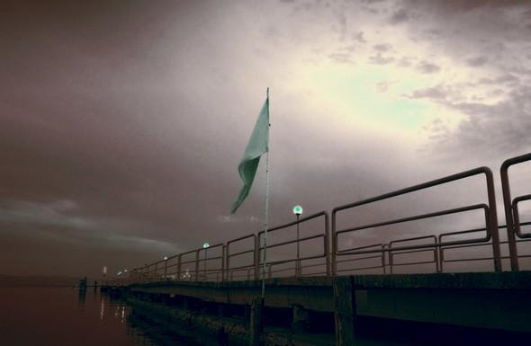 La jetée des traghetti à Tuoro-Navaccia.14/08/2015,    18:01