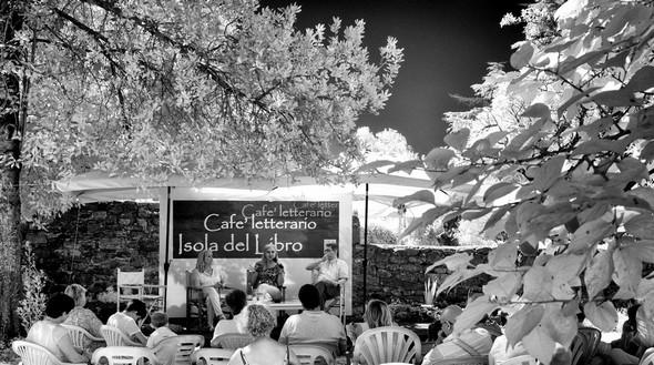 Cafe LetterarioIsola Maggiore.30 Agosto 2014.