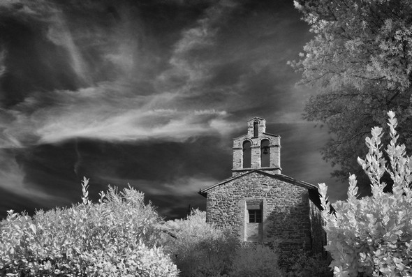 Chiesa di San Michele Arcangelo.Située au point culminant de l'Isola Maggiore.20/10/2015    13:33
