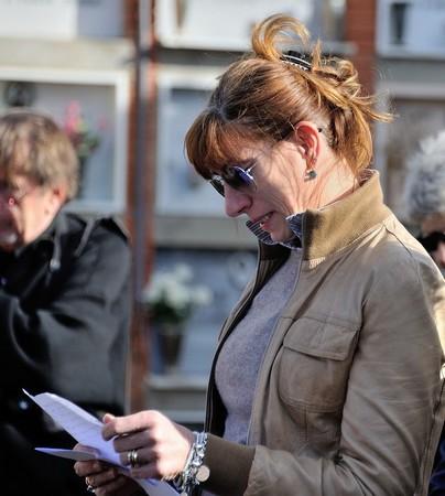 Angela Scarpocchi, cugina di Roberto.