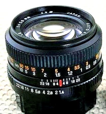 REVUENON  50mm  f/1,4