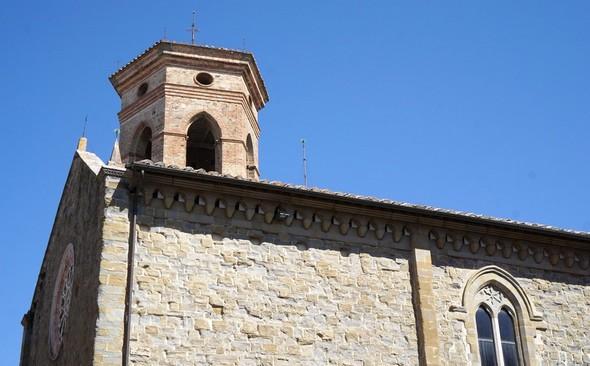 Eglise de saint François.Deruta.XIII° siècle.