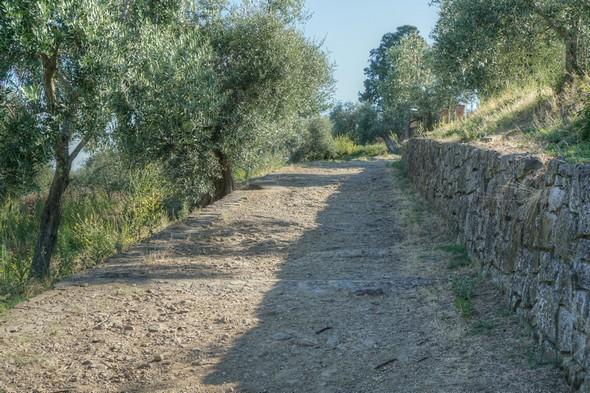 Et nous reprenons notre montée vers la chiesa di San Michele Arcangelo.
