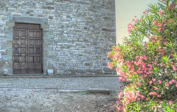 Première récompense.La chiesa di San Michele et ses très belles fresques.Une visite à ne pas manquer !