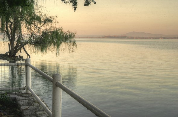 PHOTO 1Vue vers Castiglione del Lago.