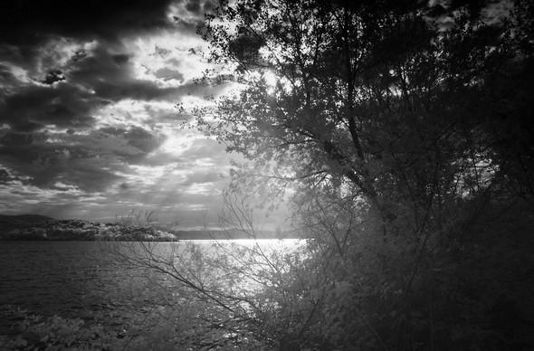Depuis le lungolago, regard sur le Trasimène...  I