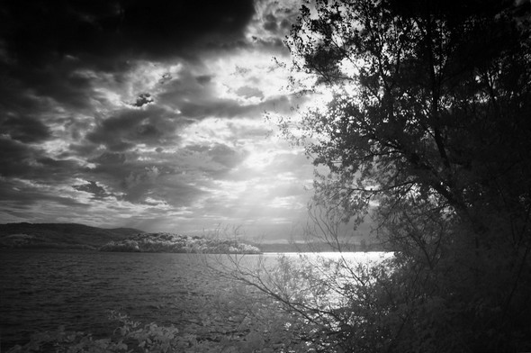 Depuis le lungolago, regard sur le Trasimène...  II