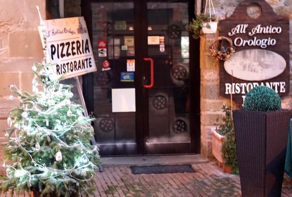 Désormais, la seule décoration de Noël de l'Isola Maggiore. Un peu tristounet, non ?