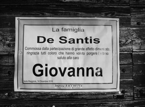 Pubblicato alla porta del Museo del Merletto.<br />Isola Maggiore.<br />Lago Trasimeno.