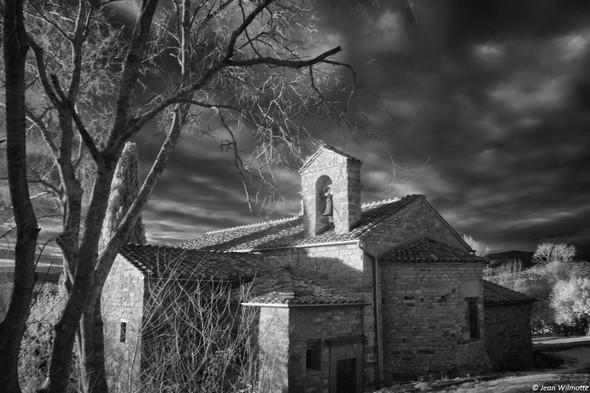 Chiesa di San Salvatore.Vue arrière, quand on descend du sommet de l' Isola Maggiore.10/02/2017