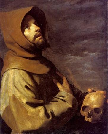 Saint François d'Assise en extase.Francisco de Zurbaran1658-1660Munich