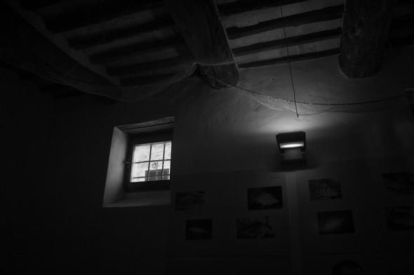 Un lieu moins connu.Au musée du Merletto (dentelle), la petite salle de réunion de la Pro Loco.