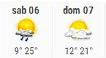 Tuoro-sul-Trasimeno. servizio meteorologico.