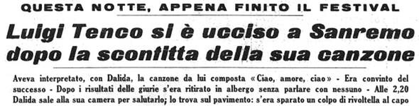 La Stampa  -  27 gennaio 1967