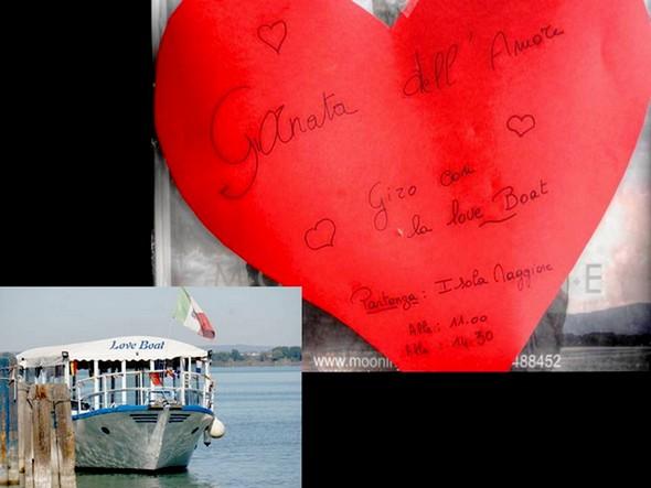 """E, fin dall'inizio, una proposta di  un imbarco sul """"Love Boat"""" di Youri..."""
