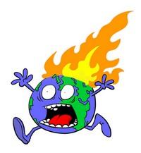 Planète sur le feu...