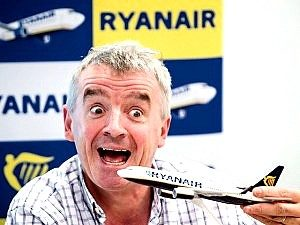 "Michael O'Leary, CEO Ryanair. ""Clarksonian""?"