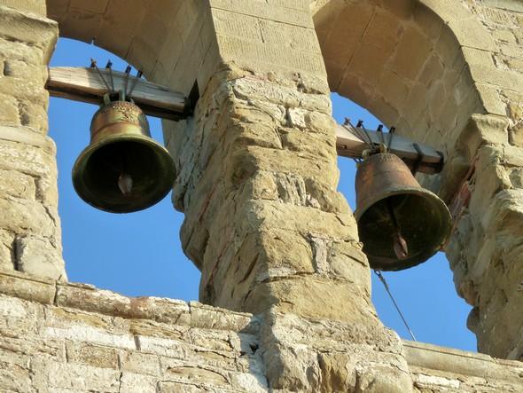 Cloches de la chiesa di San Michele Arcangelo.Isola Maggiore.