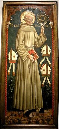 San Bernardino da Siena.Par Dario di Giovanni.Vers 470