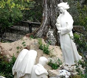Deuxième apparition de l'Ange de la Paix aux trois bergers de Fatima.<br />2016