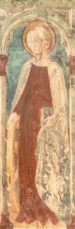 Détail : sainte Catherine d'Alexandrie.