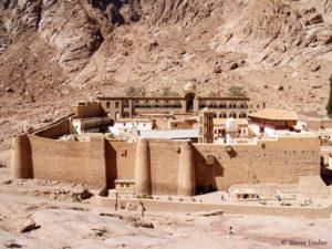 Monastère sainte Catherine, Sinaïe.